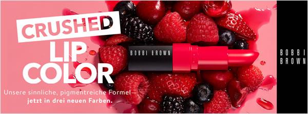 Gratis: Lippen Crushed Lip Color von Bobbi Brown